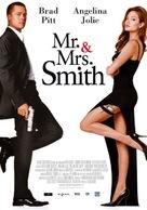 Mr. & Mrs. Smith - Italian Movie Poster (xs thumbnail)
