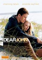 Dear John - Australian Movie Poster (xs thumbnail)