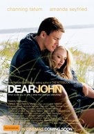 Dear John - Australian Movie Poster (xs thumbnail)
