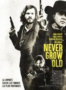 Never Grow Old - French Movie Poster (xs thumbnail)