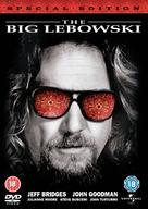 The Big Lebowski - British DVD movie cover (xs thumbnail)