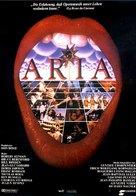Aria - German Movie Poster (xs thumbnail)