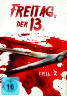 Friday the 13th Part 2 - German DVD cover (xs thumbnail)