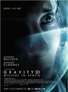 Gravity - Romanian Movie Poster (xs thumbnail)