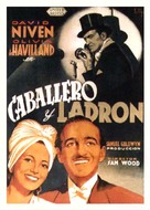 Raffles - Spanish Movie Poster (xs thumbnail)