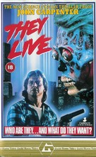 They Live - British VHS movie cover (xs thumbnail)