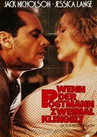 The Postman Always Rings Twice - German Movie Poster (xs thumbnail)