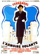 L'armoire volante - French Movie Poster (xs thumbnail)