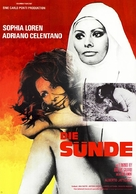 Bianco, rosso e... - German Movie Poster (xs thumbnail)