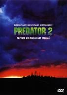 Predator 2 - Polish DVD movie cover (xs thumbnail)