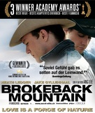Brokeback Mountain - Swiss Movie Poster (xs thumbnail)
