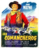 The Comancheros - French Movie Poster (xs thumbnail)