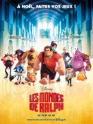 Wreck-It Ralph - French Movie Poster (xs thumbnail)