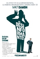 The Informant - Mexican Movie Poster (xs thumbnail)
