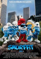 The Smurfs - Finnish Movie Poster (xs thumbnail)