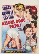 Father's Little Dividend - Belgian Movie Poster (xs thumbnail)