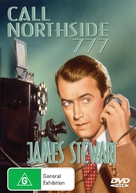 Call Northside 777 - Australian DVD cover (xs thumbnail)