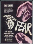 Ministry of Fear - British Movie Poster (xs thumbnail)