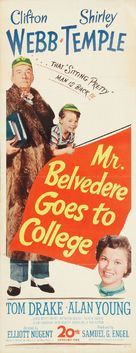 Mr. Belvedere Goes to College - Movie Poster (xs thumbnail)
