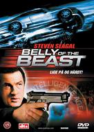Belly Of The Beast - Danish DVD cover (xs thumbnail)