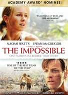 Lo imposible - DVD movie cover (xs thumbnail)