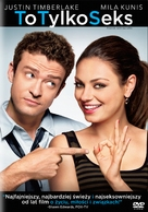 Friends with Benefits - Polish DVD movie cover (xs thumbnail)