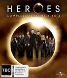 """Heroes"" - New Zealand Blu-Ray movie cover (xs thumbnail)"