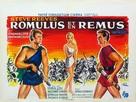 Romolo e Remo - Belgian Movie Poster (xs thumbnail)