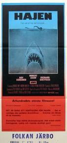 Jaws - Swedish Movie Poster (xs thumbnail)