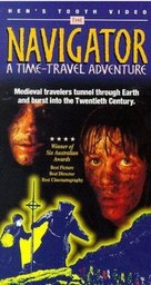 The Navigator: A Mediaeval Odyssey - VHS cover (xs thumbnail)