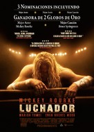 The Wrestler - Mexican Movie Poster (xs thumbnail)