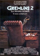 Gremlins 2: The New Batch - Italian Movie Poster (xs thumbnail)