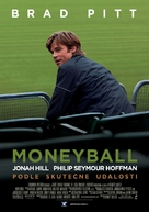 Moneyball - Czech Movie Poster (xs thumbnail)