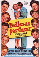 Belles on Their Toes - Spanish Movie Poster (xs thumbnail)
