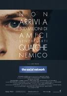The Social Network - Italian Movie Poster (xs thumbnail)