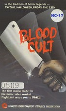 Blood Cult - VHS cover (xs thumbnail)