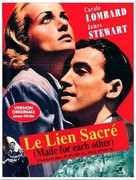 Made for Each Other - French Movie Poster (xs thumbnail)