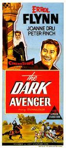 The Dark Avenger - Australian Movie Poster (xs thumbnail)