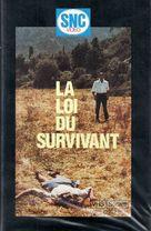 La loi du survivant - French VHS cover (xs thumbnail)