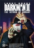 Darkman II: The Return of Durant - Australian DVD cover (xs thumbnail)