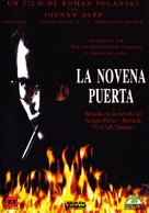 The Ninth Gate - Spanish DVD cover (xs thumbnail)