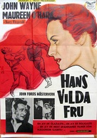 The Quiet Man - Swedish Movie Poster (xs thumbnail)