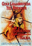 Solomon and Sheba - German Movie Poster (xs thumbnail)