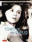 Såsom i en spegel - Spanish DVD cover (xs thumbnail)