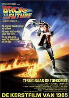Back to the Future - Dutch Movie Poster (xs thumbnail)