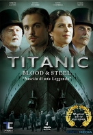 """""""Titanic: Blood and Steel"""" - Italian DVD movie cover (xs thumbnail)"""