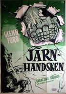 The Green Glove - Swedish Movie Poster (xs thumbnail)