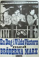 Go West - Swedish Movie Poster (xs thumbnail)