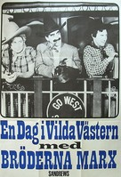 Go West - Swedish Movie Poster (xs thumbnail)