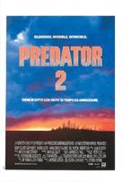 Predator 2 - Italian Theatrical movie poster (xs thumbnail)